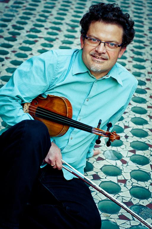 Marc Vieillefon et son violon