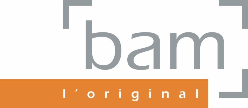 Logo de BAM, étuis d'instruments à cordes, partenaire de Musirando