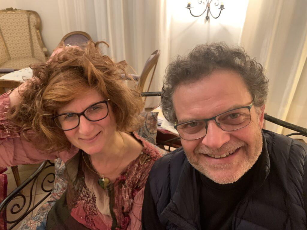 Marc Vieillefon et anne Caloustian