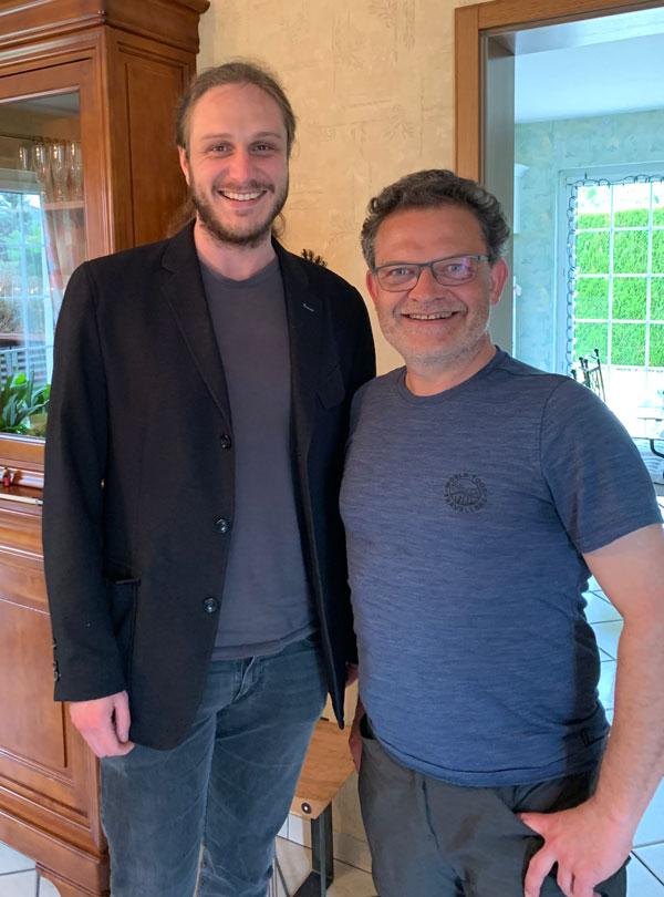 Quentin et Marc