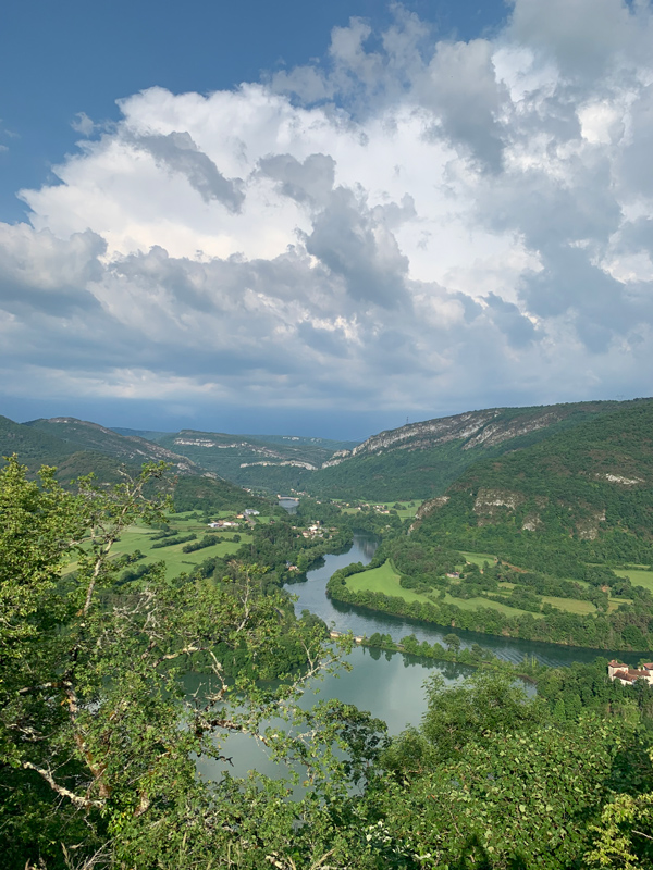 Musirando à Corveissiat : de sublimes paysages