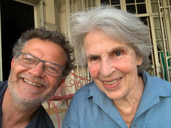 Marc et Marie-France aux Dombes le 13 juin 2021