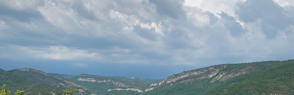Paysage de Corveissiat, sur le tour de France musical de Marc Vieillefon