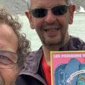 Yannick et Marc dans les Alpes avec les Poissons volants