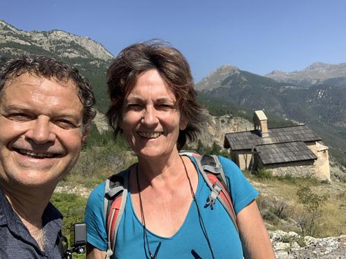 Musirando dans les Alpes chez Catherine